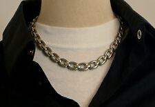 "Men's Titanium Necklace, 18"" 46cm's, Extra links avail to extend,  TN001"