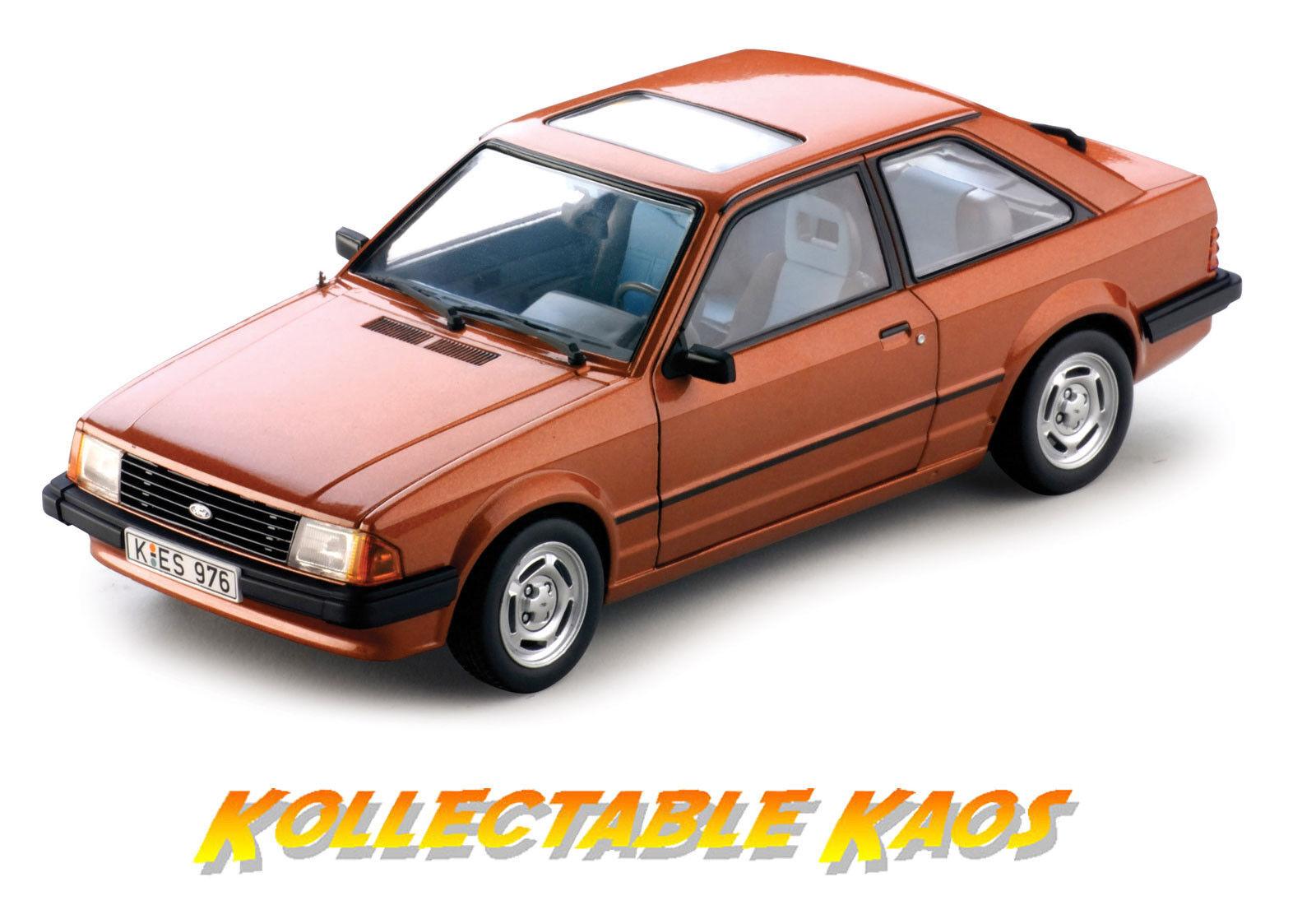 online al mejor precio 1 18 SUNEstrella - 1981 Ford Escort Mk3 Mk3 Mk3 GL Saloon-Azteca De Bronce Nuevo En Caja  bienvenido a elegir