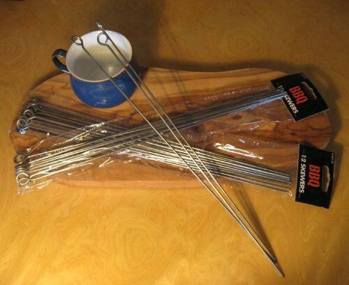 skewers disposable barbecues tongs spatula fab garden gift new bbq tools sets
