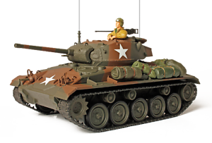 ForcesofValor 1 32 U.S. CADILLAC  M24 CHAFFEE Tank  Model  GERMANY 1945