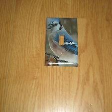 BLUE JAY BLUEJAY WILD BIRD LIGHT SWITCH COVER PLATE #3
