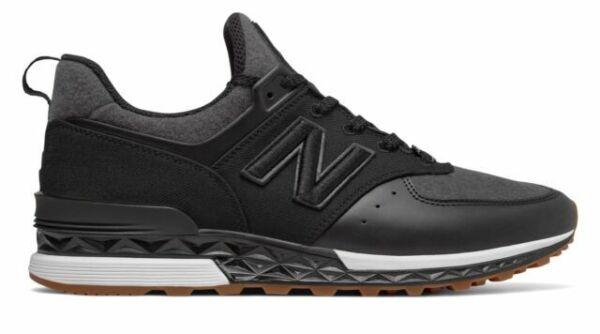 Size 10 - New Balance 574 Sport x New Era Black Gum for sale ...