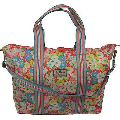 Cath Kidston NEW Foldaway Overnight Bag Daisy Bed Floral BNWT