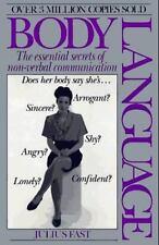 Body Language, Julius Fast, Good Book