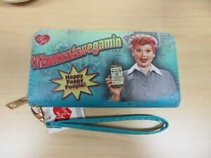 I-Love-Lucy-Collectible-Vitameatavegamin-Zipper-Wallet-Brand-New-Licensed
