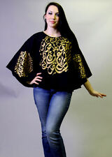 Professional Bellydance Belly Dance Class Wear Bellydancing Cover up Shirt 21897