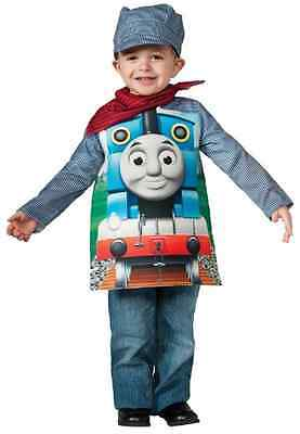 Thomas the Tank Engine Train Cartoon Fancy Dress Up Halloween Child Costume