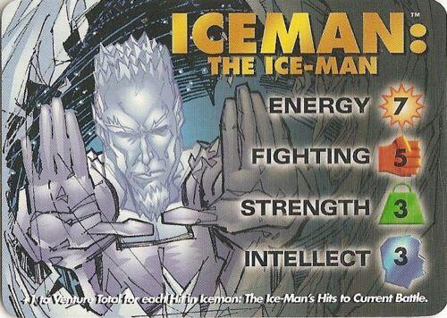 25 3 hero IQ 22sp Blood Chill 10 Ice Armor 3 bonus OVERPOWER Iceman PLAYER SET