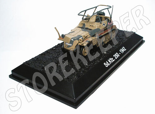 Sd.Kfz. Sd.Kfz. Sd.Kfz. 250D Rommel's Command Car - Germany 1942 - 1 72 LIMITED PROMO OFFER  120043