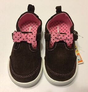 19d6ef6fc17bb3 Image is loading Bay-Girls-Mary-Jane-Shoes-Brown-Corduroy-Casual-