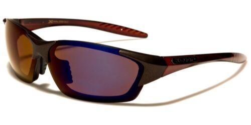 argent Designer bronze noir bleu Hommes uv400 soleil 2559 rectangulaires Argent titane Lunettes de Wrap Noir 100 Xloop Sport pqOZUU