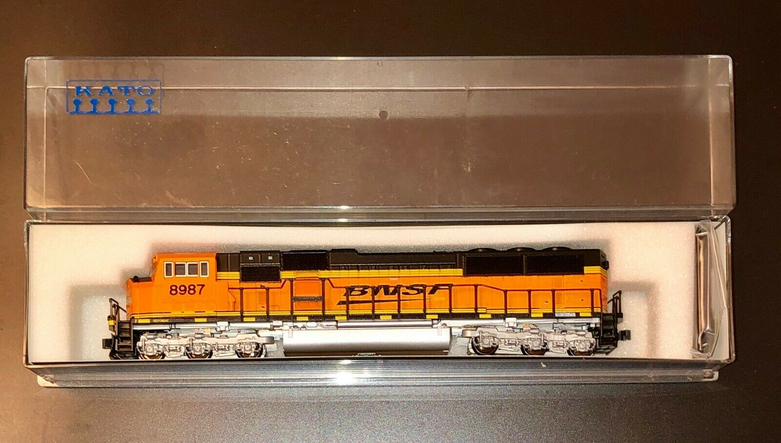 N Scale EMD SD70 MAC Nose Headlight BNSF - Excellent Condition