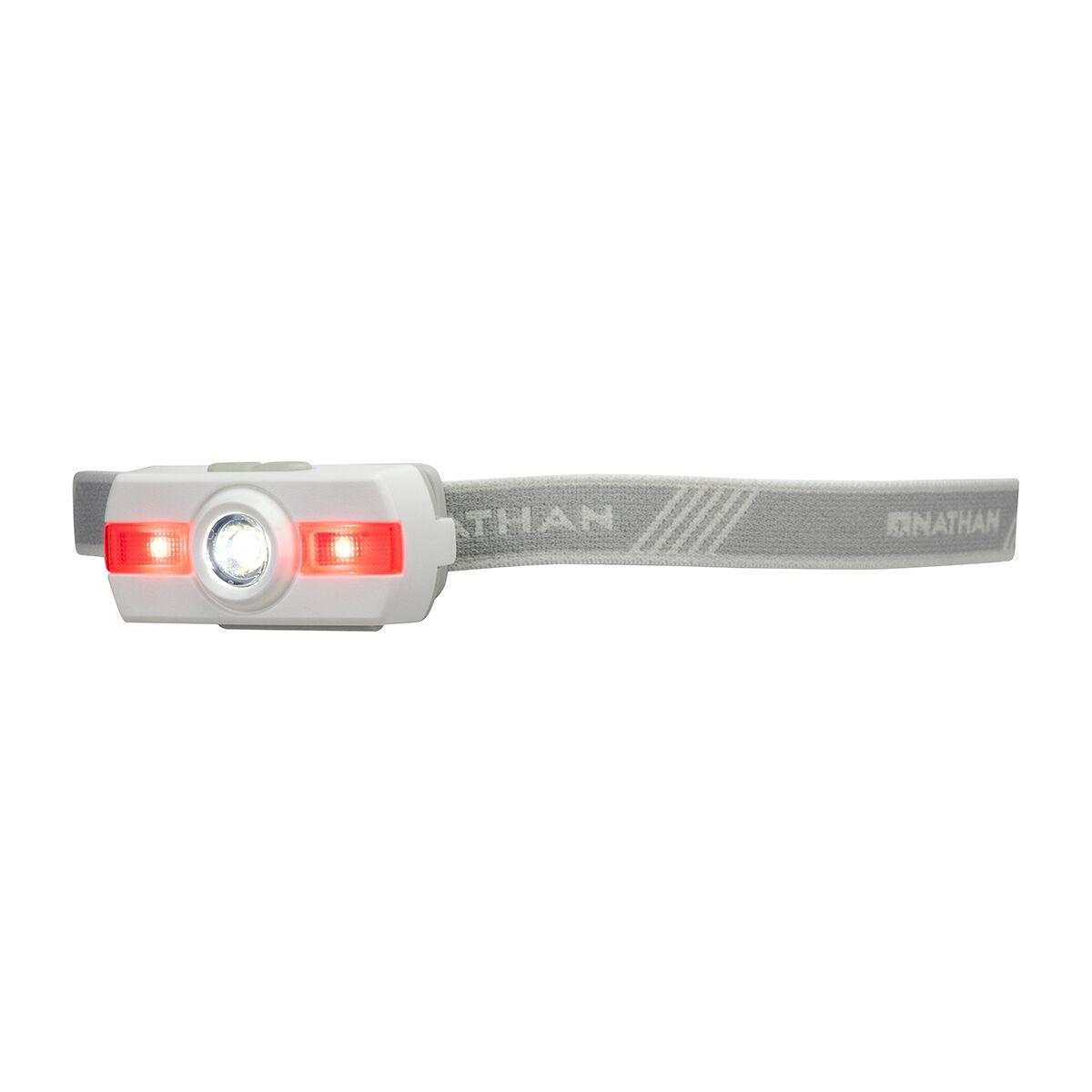 Nathan Sports Neutron Fire Runners' Headlamp Lightweight Long-Lasting 5094 White