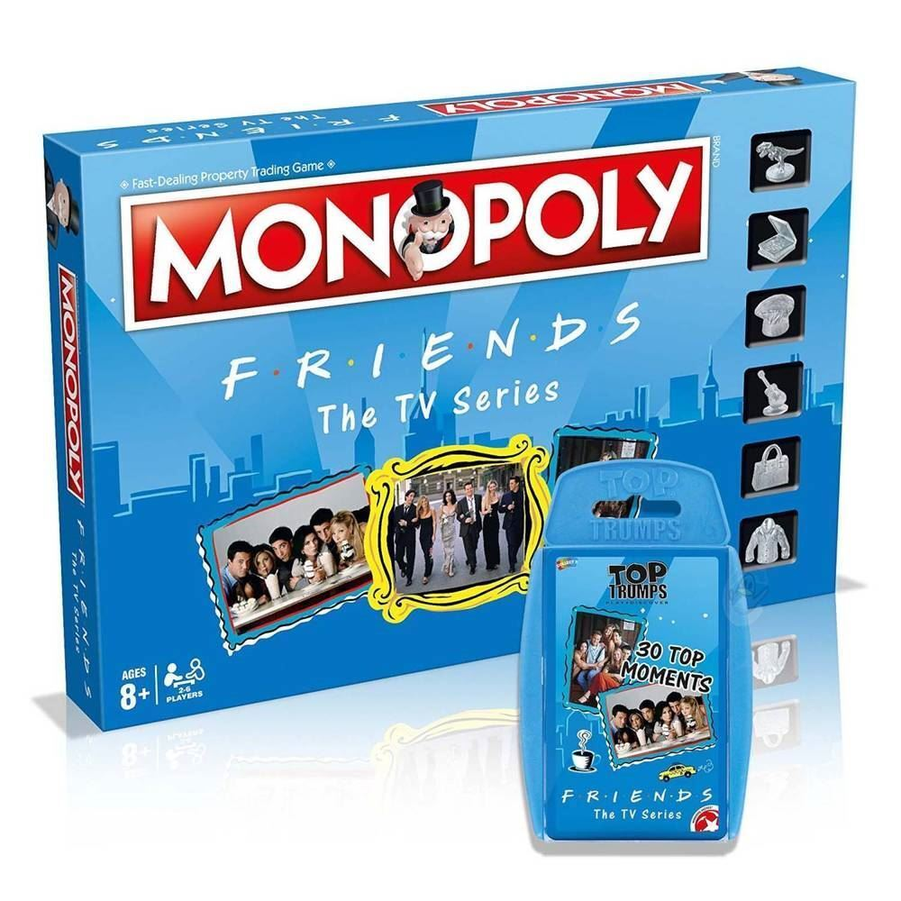 TV Show Friends ensemble Combo Monopoly Board Game & Top emporte sur jeu de carte - 8