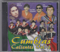 Cumbias Calientes-vol 2 Tejano Tex Mex Classic Cd Sealed