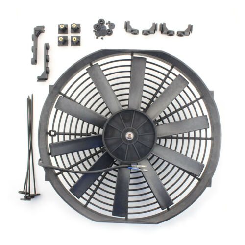 """ACP 14/"""" Universal Radiador Ventilador de refrigeración Recto Cuchillas de empuje unidad de reemplazo"""