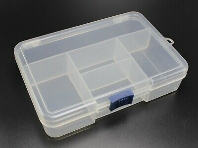 1 Set Clear Beads Display Case Tray with 12pcs 30mm Storage Box for Craft