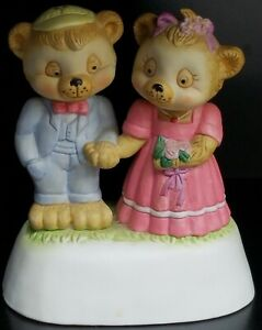 Willitts-Melodies-Bear-Couple-Music-Box-034-You-039-er-Nobody-Til-Somebody-Loves-You-034