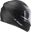 LS2-FF320-STREAM-EVO-MATT-BLACK-DUAL-VISOR-PINLOCK-FULL-FACE-MOTORCYCLE-HELMET miniature 5