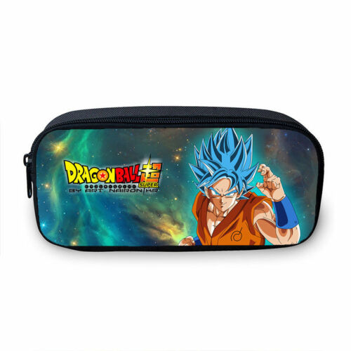 S//3 Anime Dragon Ball Backpack Insulated Lunch Bag Pencil Case Crossbody Bag Lot