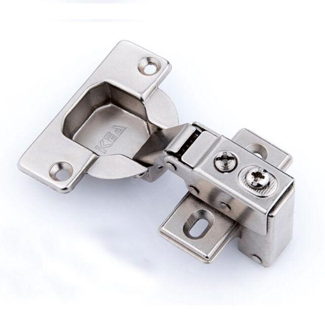 soft close kitchen cabinet door hinge slow shut plate screws 40mm cup - Kitchen Cabinet Door Hinges