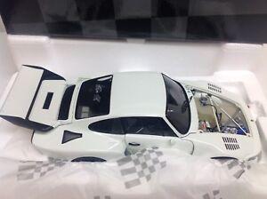 Exoto-Porsche-935-Turbo-1-18-NEU-flat-slant-nose-white-plain-18100-very-rare