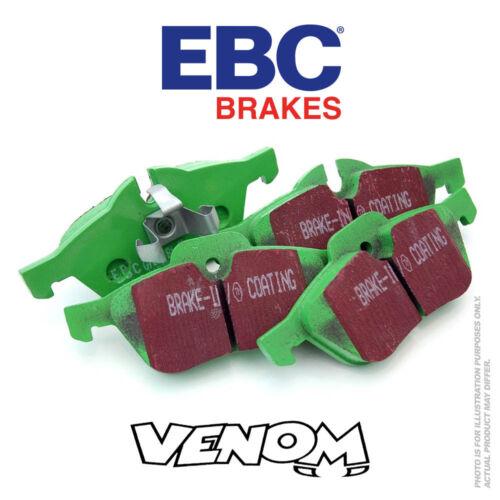 EBC GreenStuff Rear Brake Pads for Fiat Uno 1.4 Turbo 90-94 DP2596