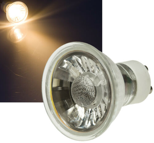 6er Set MCOB LED Badezimmer Einbaustrahler Aqua44-Q Chrom 230V 5W IP44