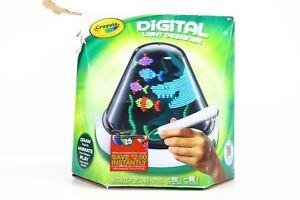 Attractive Image Is Loading Crayola Digital Light Designer Spinning Light Canvas 8  Amazing Design