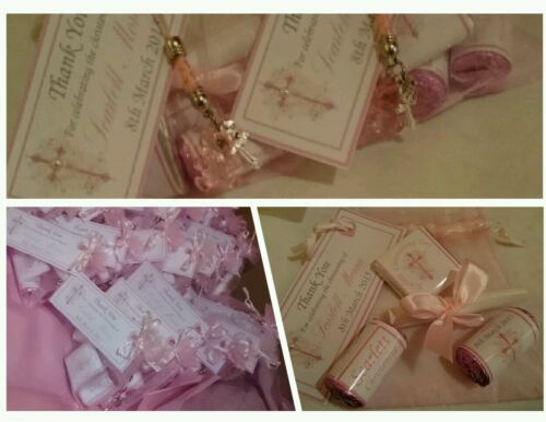 CHRISTENING favour bags BABY SHOWER