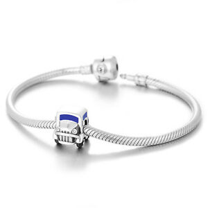 Car-Charm-925-Sterling-Silver-Gift-Packed-Fits-European-Charm-Bracelet