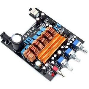 2*50W Mini TPA3116 2.0 Class D Amplifier Board DC18V-DC24V AMP