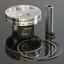 13.5:1 Compression~2009 Yamaha YZ250F Piston Kit 2.00mm Oversize to 79.00mm