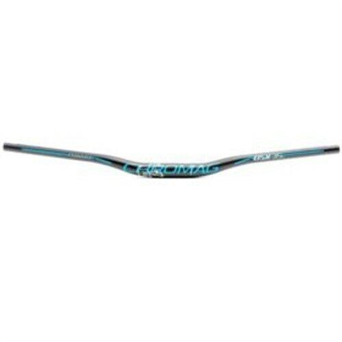 Chromag, Fubars OSX 35, Riser bar, Clamp  35mm, W  800mm, Rise  25mm, Blau