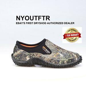 Dryshod-LEGEND-Camo-Camp-Shoe-Camo-Black-Muck-Style-MCM-MS-BK-All-Sizes