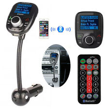 Bluetooth Auto FM Transmitter Freisprechanlage Car MP3 Player USB SD AUX KFZ WW