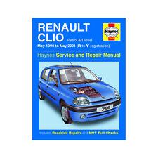 haynes renault clio petrol diesel may 98 may 01 r to y reg car rh ebay co uk haynes manual renault clio 2002 haynes manual renault clio 2009