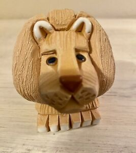 Vintage Artesania Rinconada Lion Pottery Ceramic Figurine ~ URUGUAY