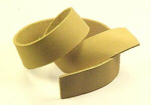 SECONDS: One 2-3oz VEGETABLE TANNED LEATHER (Thinnest Weight) Strip Strap Cow