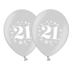 number-21-Silver-Sparkle-12-034-Pastel-Assortment-Latex-Balloons-pack-of-10