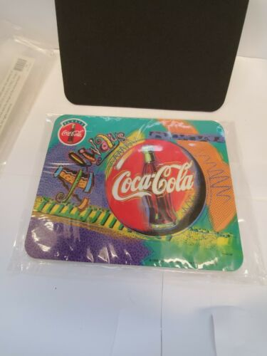 1998 Collectors Coca-Cola Always CocaCola Mouse Pad Coke Brand New Sealed