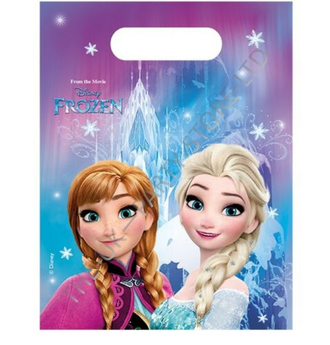 Disney Frozen Fiesta Loot Bolsas Suministros De Fiesta De Cumpleaños Regalo Paquete favor Niña Niños