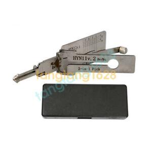 Auto Door Lock >> Lishi Hyn11 V 2 2 In 1 Auto Door Lock Tools Plug Reader For Hyundai