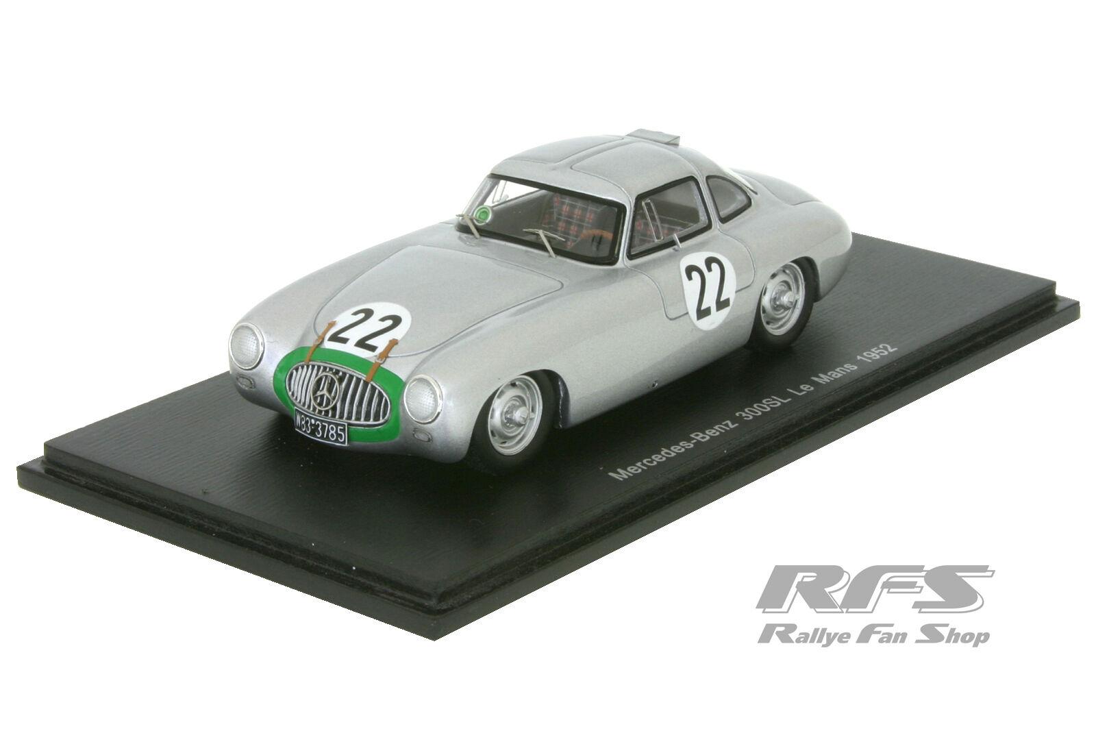 MERCEDES-BENZ 300sl - 24h Le Mans 1952-ça Klenk - 1 43 spark 4409