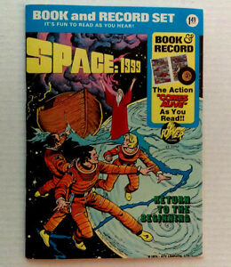 SPACE 1999 Book and Record set RARE 1976. Vintage MINT.