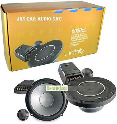 """Infinity Reference 6030cs 6.5"""" 2-way 540w 6 1/2"""" Component Car Speakers 6500cx"""