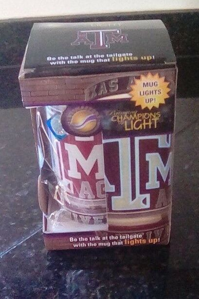 Texas Au0026M Light Up Mug New