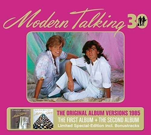 Modern Talking - First & Second Album 30th Anniversary [New CD] Germany - Import