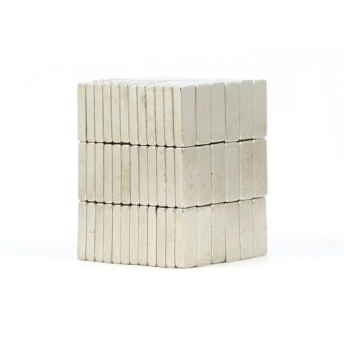 N38 15mm X 6mm X 3 mm Stark Neodym Blockmagnete Selbermachen Mro Günstig