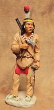 """Castagna Indianer """"Tecumseh"""" (Chief of the Beautiful River) Sammelfigur aus 1993"""